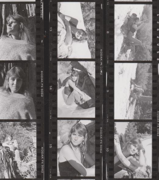 Diana McDee Contact sheet by Quarksire