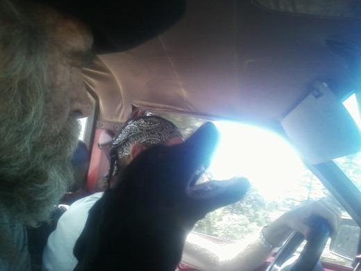 da' singin' dog an 2 ol' guys