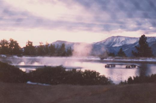 frum da 16 million gallon pond @ top of da hill