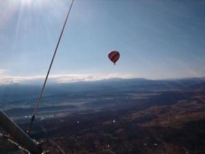 always an early bird mikey an his balloon!