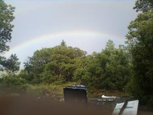 under da' rainbow!