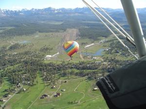 a balloon beneath my feet lol :)