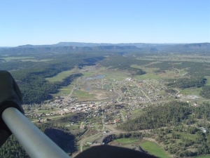 Da' Town of pagosa under my feet!